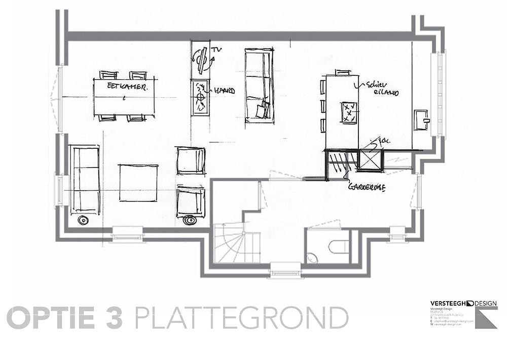 Plattegrond Keuken Ontwerpen : eengezinswoning-indelingsschetsen-voorbeeld-5