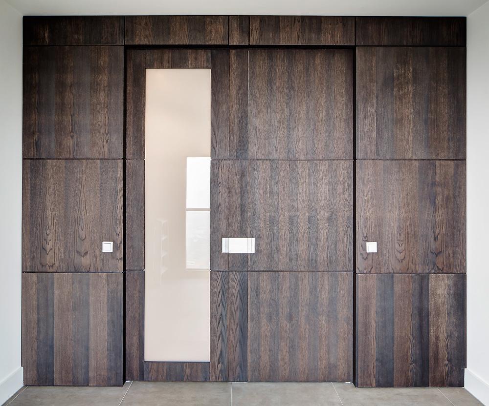 Wand Maken In Hout : Een appartement interieur ontwerp met ...
