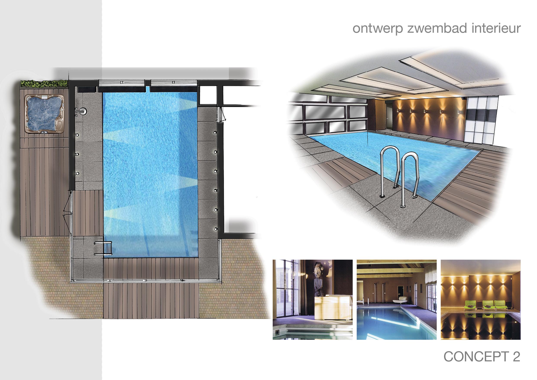Ontwerp eetkamer indeling - Zwembad interieur design ...