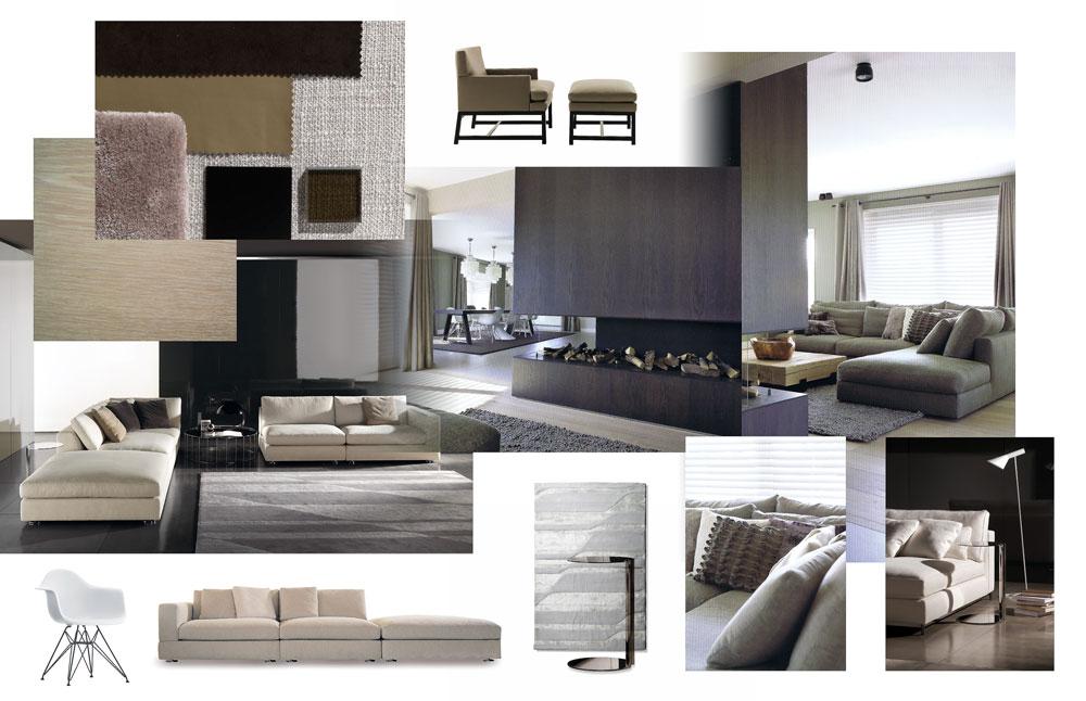 Interieur Voorbeelden Woonkamer Modern: Modern interieur waar moet een ...