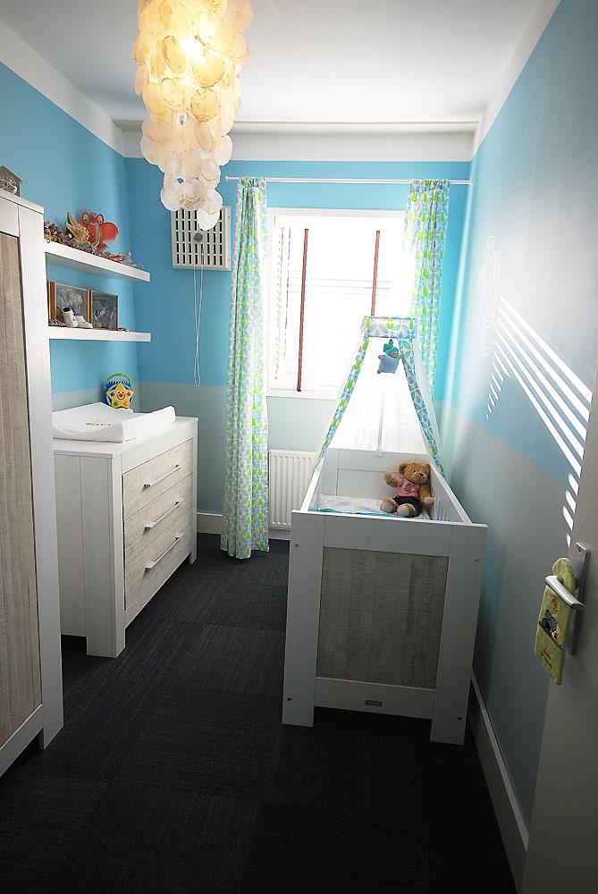 Beach house babykamer - Idee deco kamer kleine jongen ...