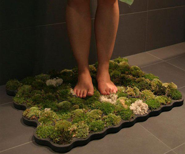Wellness trends 2012 for Moss shower mat