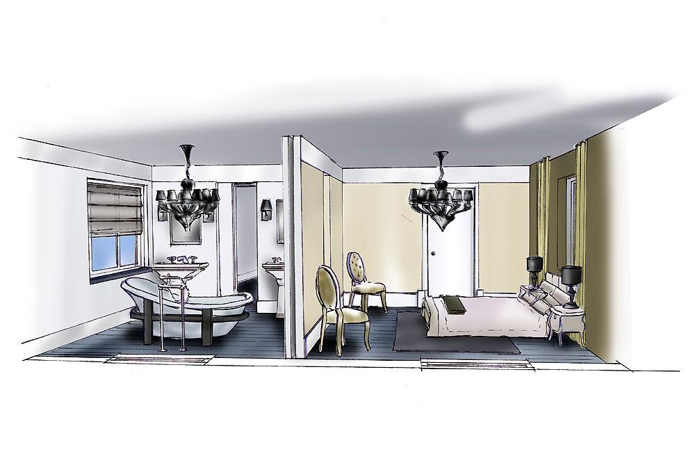 Projectontwikkeling interieur watertuinen for Interieur ontwerpen