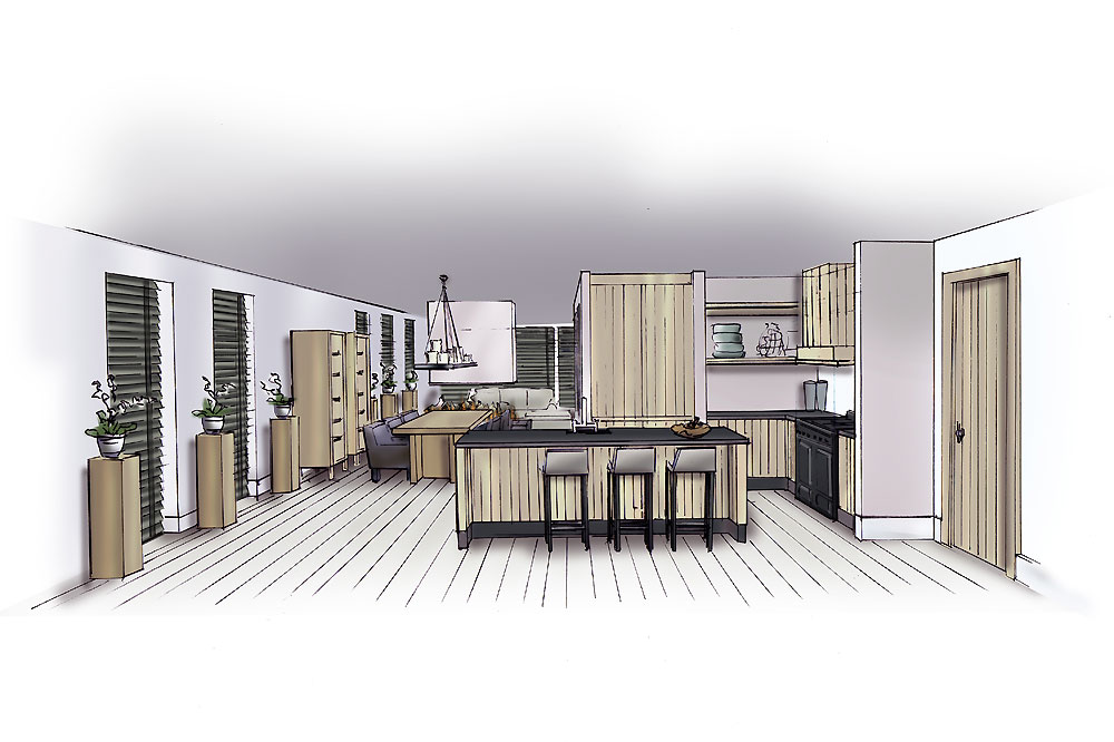 Interieur Ontwerp Watertuinen | interieur architect