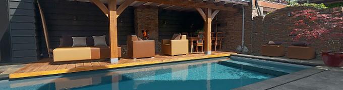 Zwembad huis een wellness relax tuin aan huis - Tuin en zwembad design ...