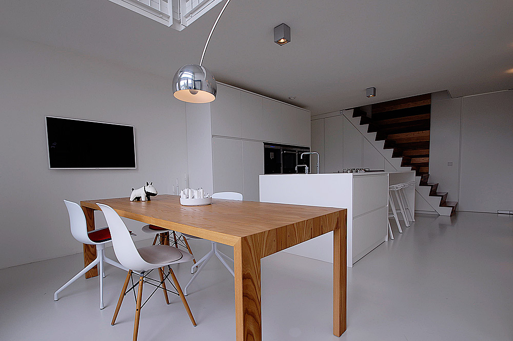 Futuristische minimalistische interieur design haus for Designer interieur gatineau