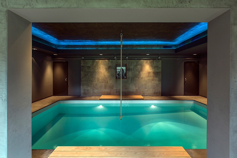 Glamour wellness interieur ontwerp for Zwembad desing
