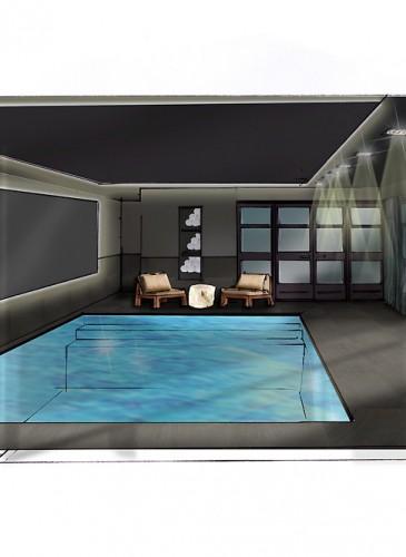 Poolhouse ontwerp met space ambition - Ontwerp zwembad meubels ...