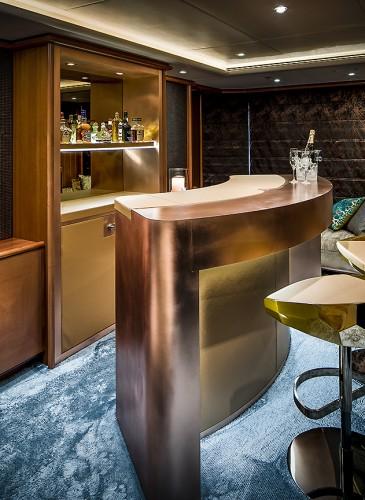 bar design yacht
