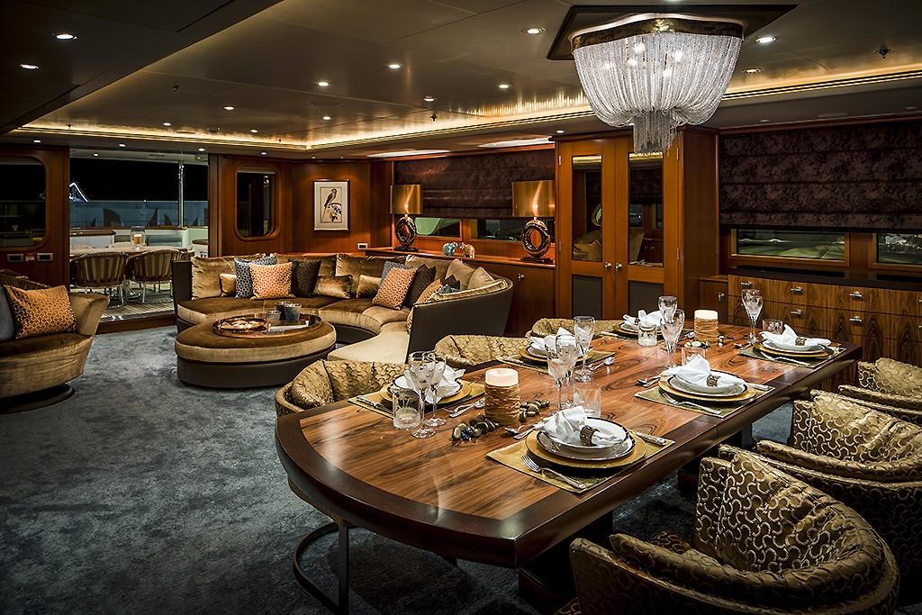 Interior design feadship mega yacht - Interieur eclectique grove design ...
