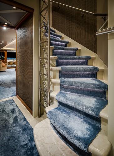 stair design yacht