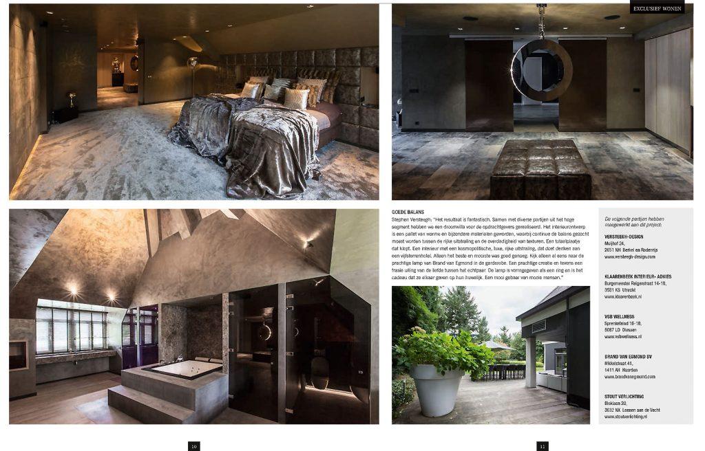 Publicatie excellent magazine zomer 2016 versteegh design - Nachtclub decoratie ...