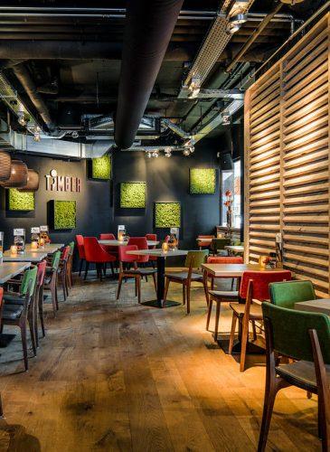 Restaurant ontwerp timber versteegh design for Interieur restaurant