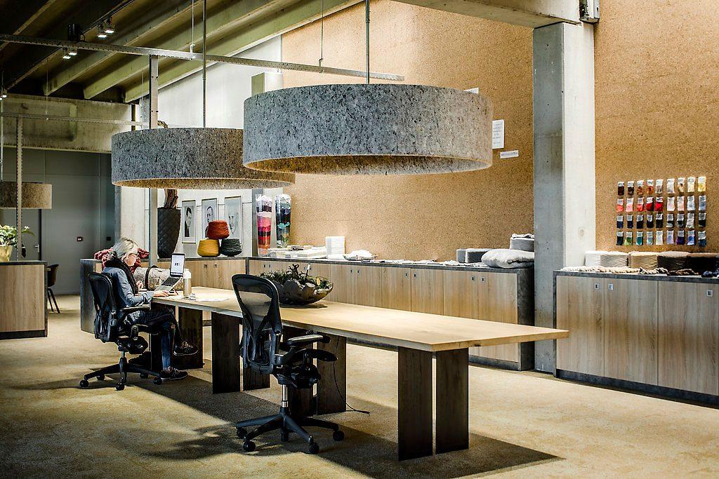 Kantoor inrichting wolkat fibre recycling bv versteegh design - Decoratie ontwerp kantoor ontwerp ...