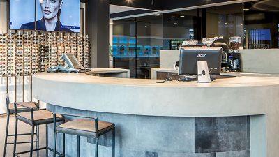 Opticien Reyer Lafeber, retail interieur ontwerp