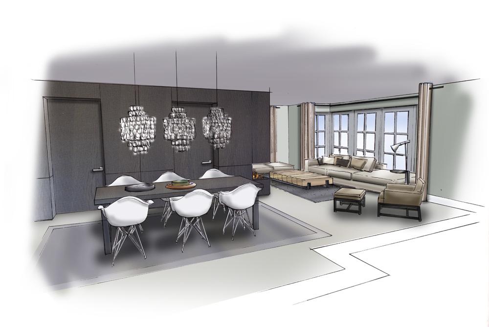 Projectontwikkeling interieur watertuinen for 3d interieur ontwerpen