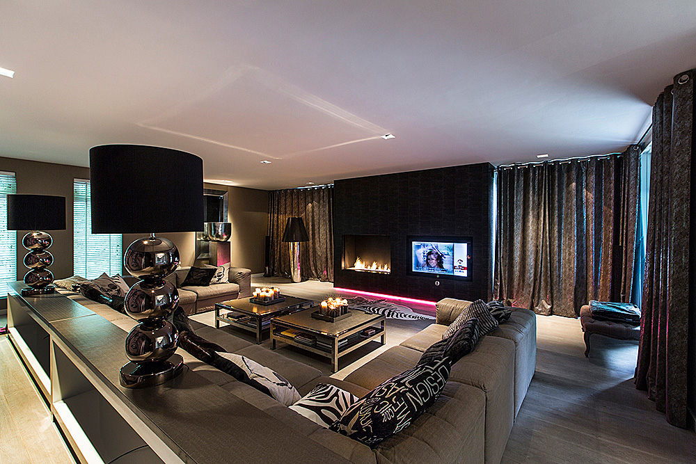 Glamour wellness interieur ontwerp for Interieur luxe