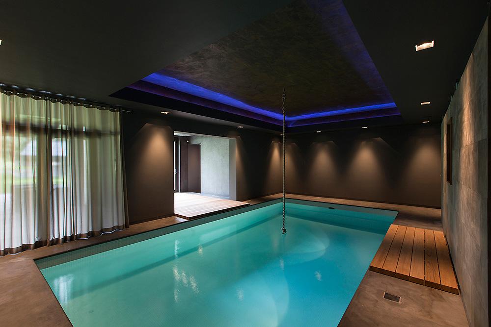 Glamour wellness interieur ontwerp