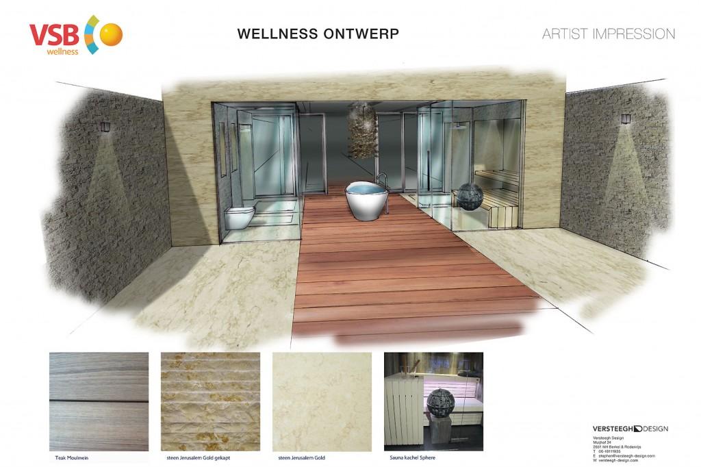 Water villa wellness