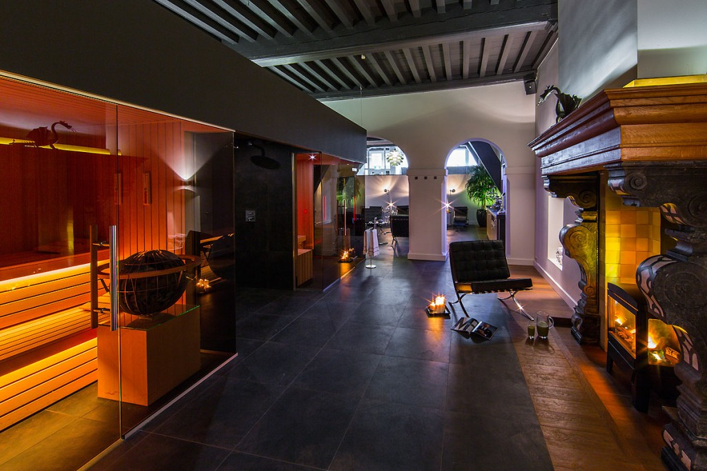 Spa design hotel de draak versteegh design architecture for Wellness design hotel