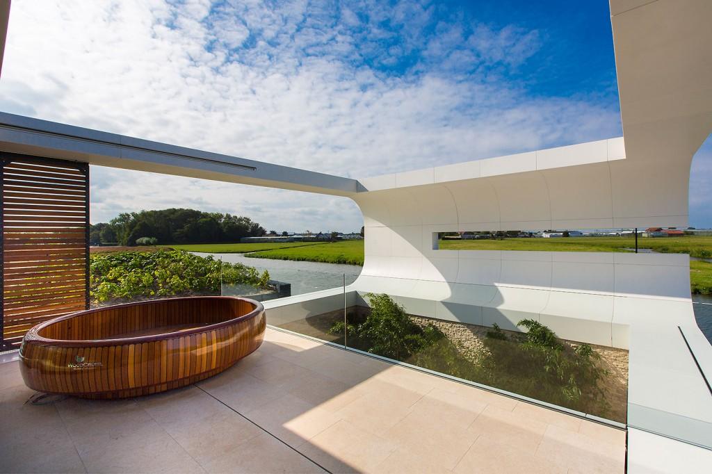 Modern buiten terras versteegh design architecture interior