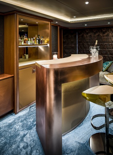 bar design yacht