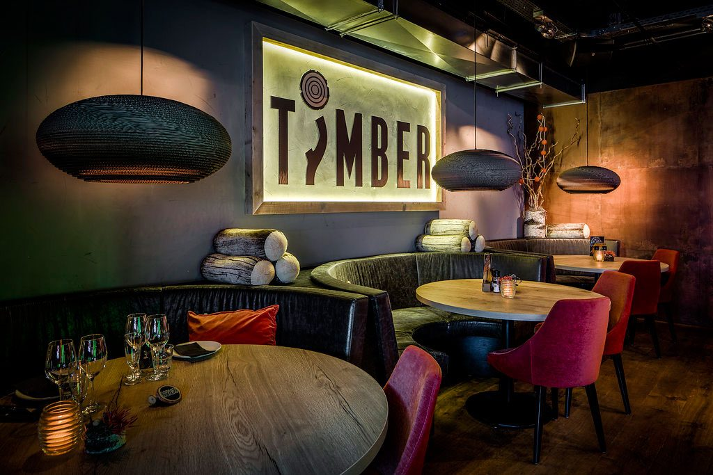 Restaurant ontwerp timber versteegh design architecture