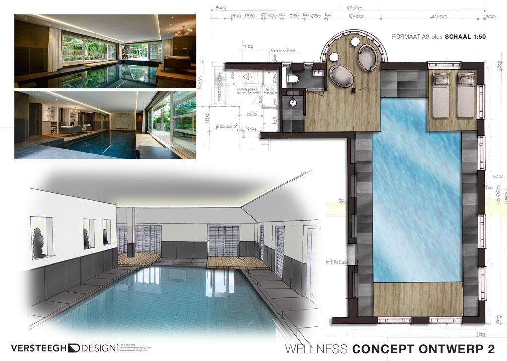Zwembad ontwerp versteegh design versteegh design