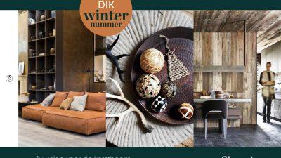 Publicatie Stijlvol Wonen magazine December 2017