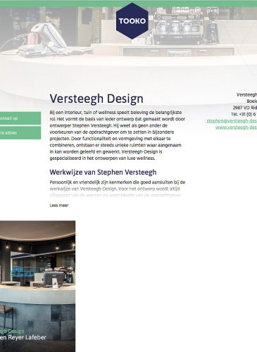 Tooko Versteegh-design